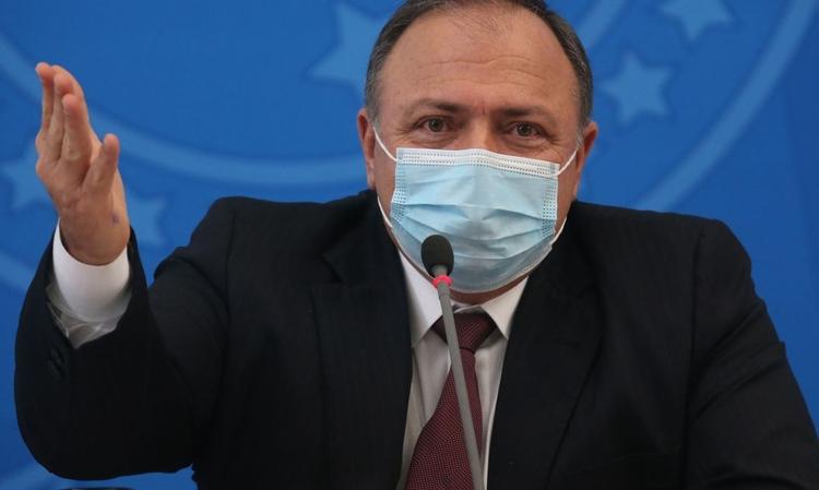 Ministro da saúde Eduardo Pazzuello visita Manaus